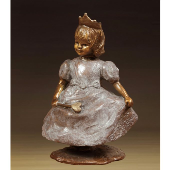 Jane Rankin Sculpture Princess Bronze