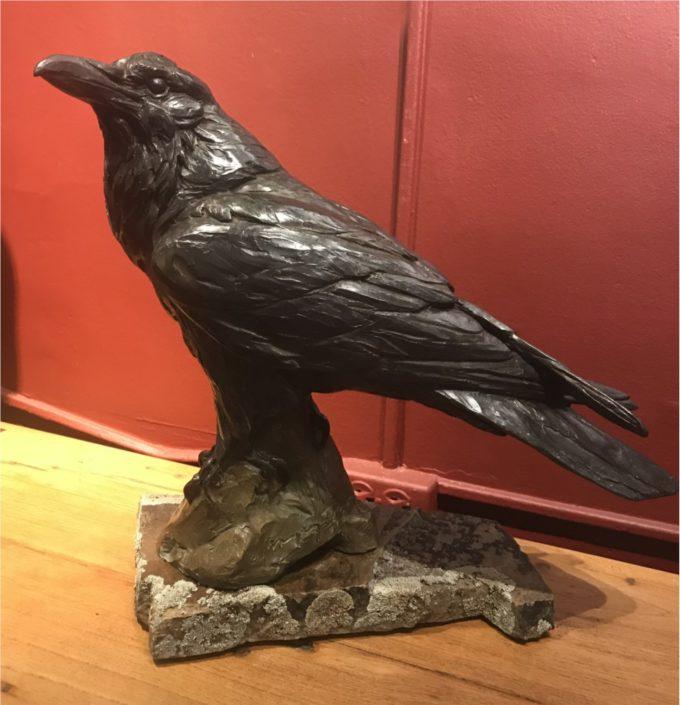 Margery Torrey Sculpture The Messenger Bronze
