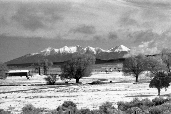 Barbara Sparks Photography San Luis Valley Ranch Black & White Photography