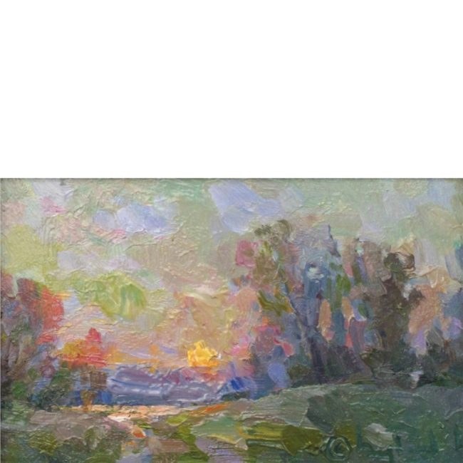 Gregory Packard Painting Twilight Oil on Panel