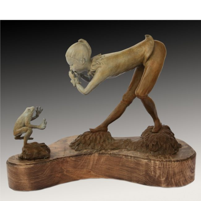 Jane Rankin Sculpture Zanni Bronze