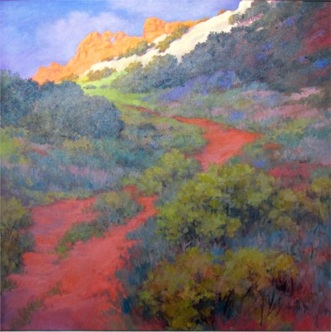Martha Mans Painting Garden Of The Gods Oil on Canvas