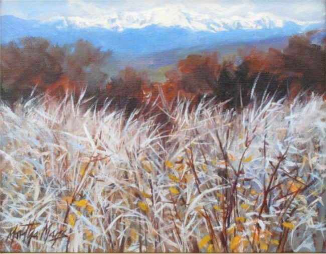 Martha Mans Painting Morning Frost Oil on Canvas