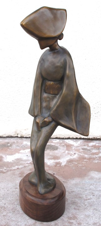 Rhonda Vickers Sculpture Nobuko - Faithful Bronze