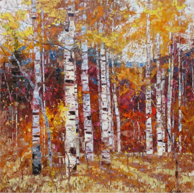 Robert Moore Painting Sense Of Autumn Oil on Canvas