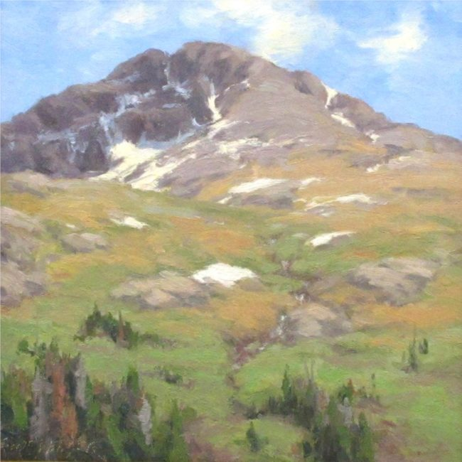Scott Yeager Painting Summer Ascending Oil on Board
