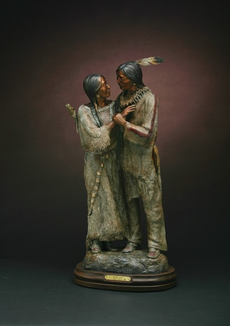 Susan Kliewer Sculpture Heart Song Bronze