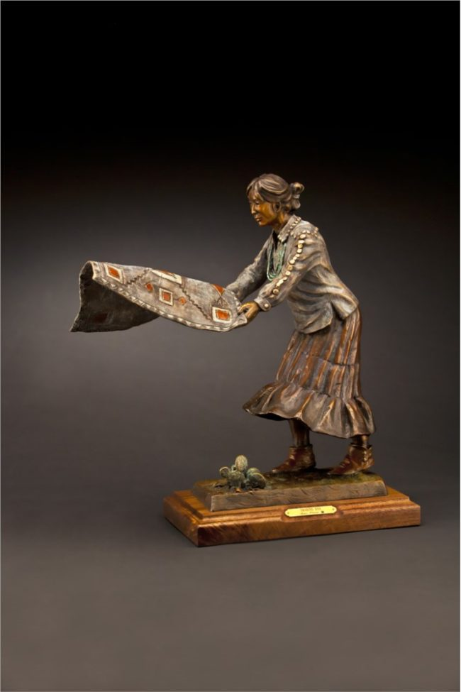Susan Kliewer Sculpture Trading Day Bronze