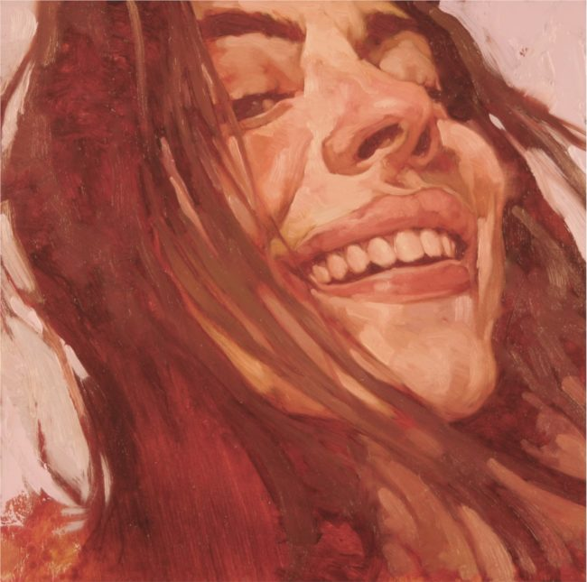 Joseph Lorusso Painting Big Smile Oil on Panel