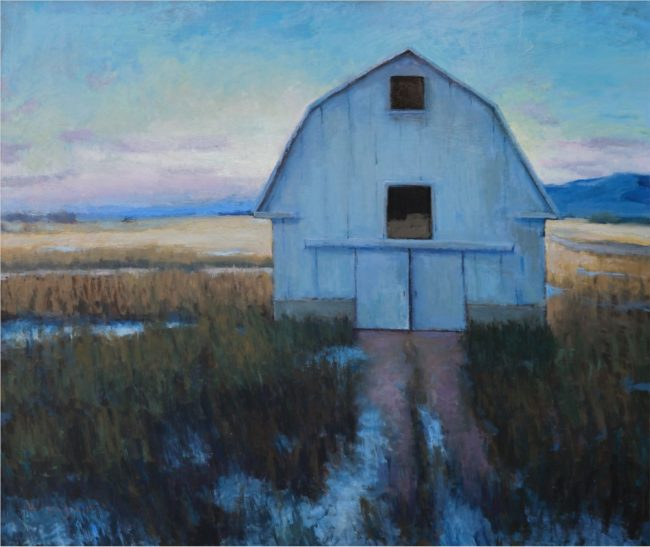 Seth Winegar Painting Country Sundown Oil on Panel