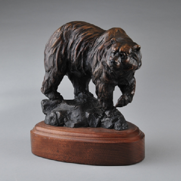 Andrea Wilkinson Sculpture K Bear Bronze