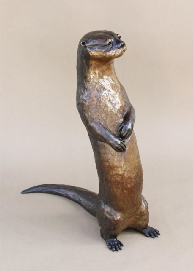 Andrea Wilkinson Sculpture River King Bronze