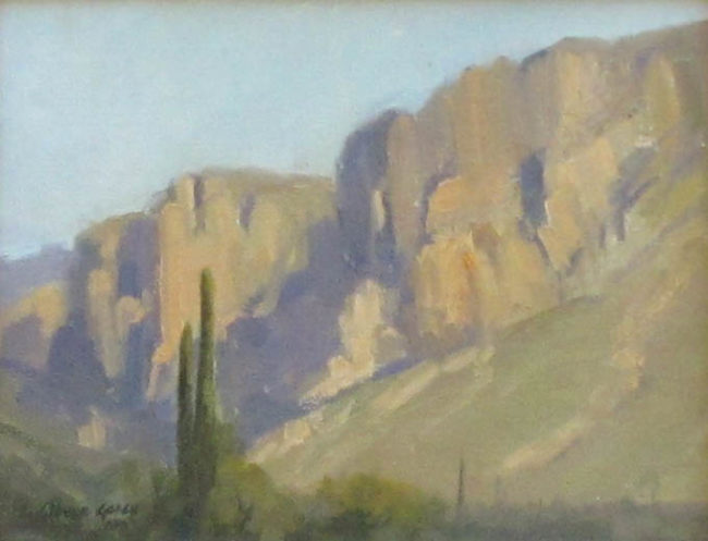 Linda Glover Gooch Painting Afternoon Light Oil on Board
