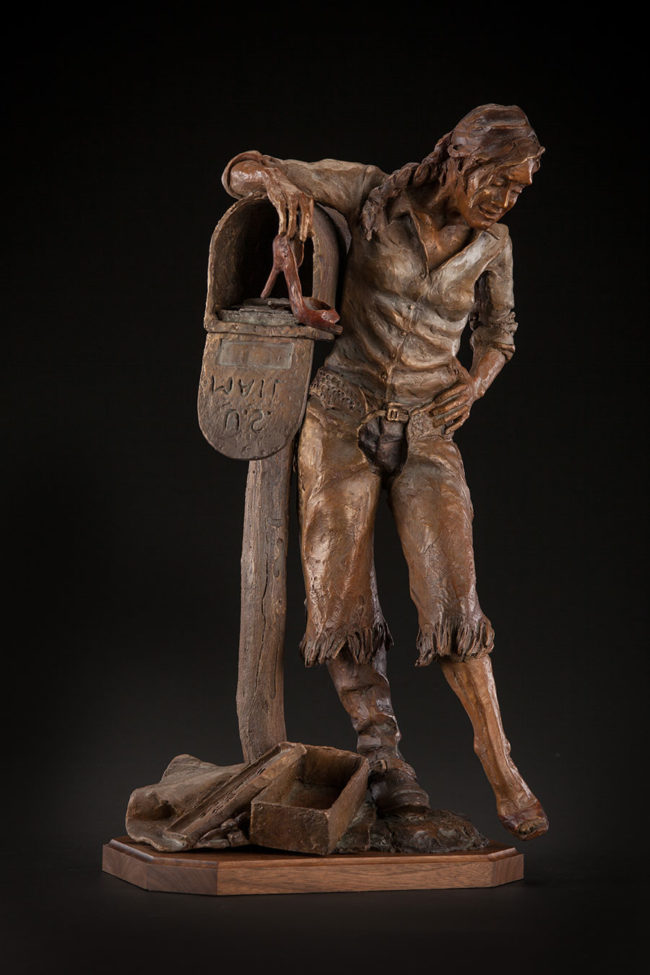 Deborah Copenhaver-Fellows Sculpture All Work And No Play Bronze