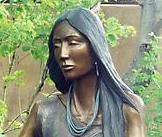 Doug Hyde Sculpture Crisita Bust Bronze