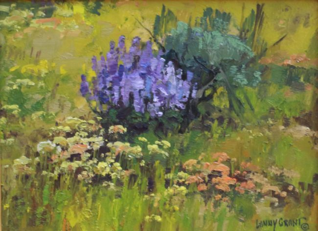 Lanny Grant Painting Lupine