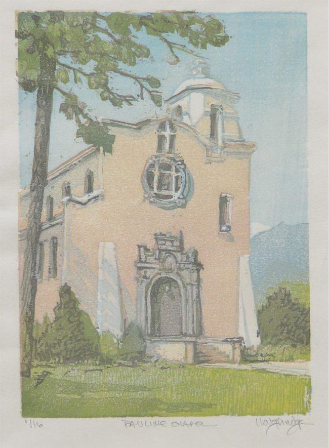 Leon Loughridge Printmaking Pauline Chapel Etching