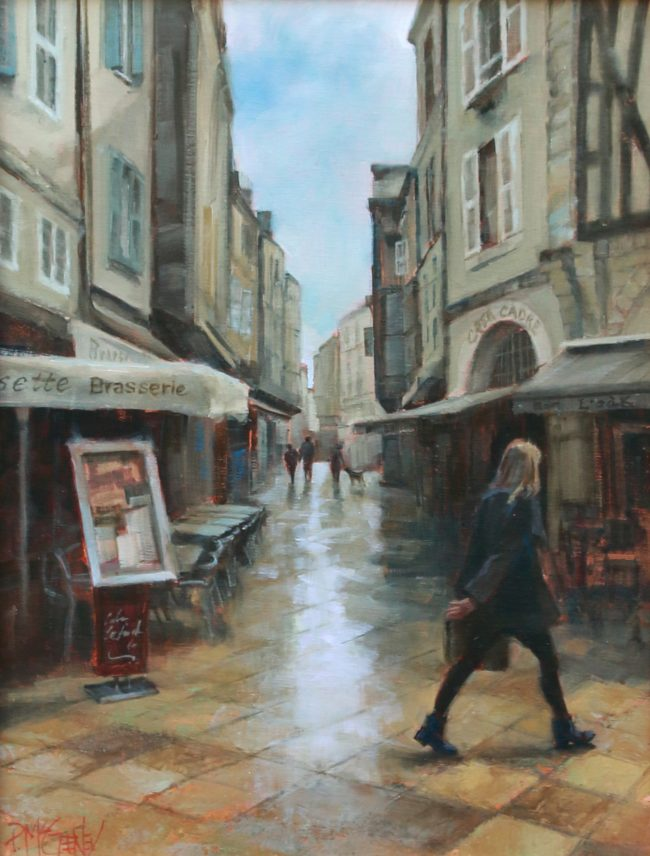 Patricia McGeeney Painting Daily Rhythms (La Rochelle