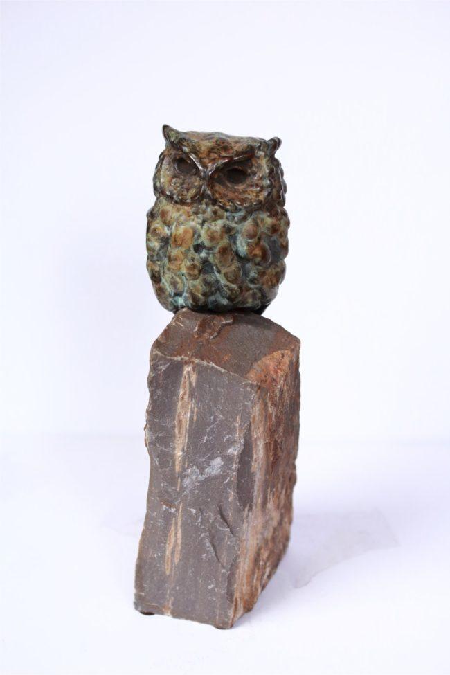 Stefan Savides Sculpture Rock Star Bronze