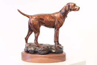 Andrea Wilkinson Sculpture Downwind Bronze
