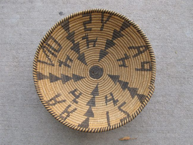 Artist Unknown Functional Basket - Apache - Payson
