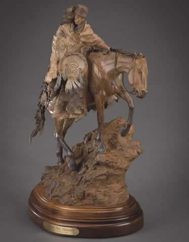 Bill Nebeker CA Sculpture Across the Divide Bronze