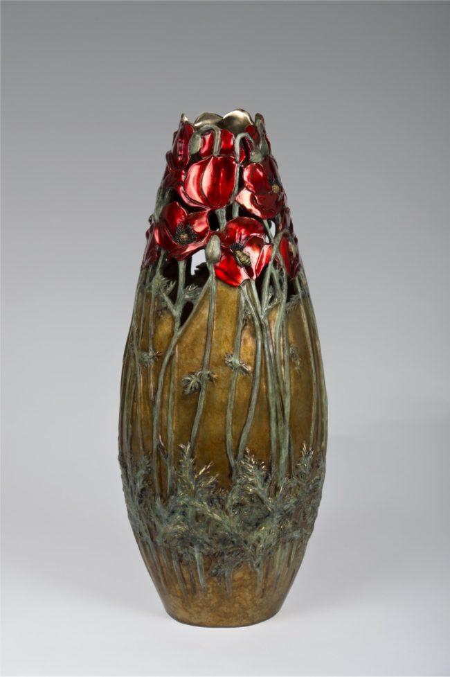 Carol Alleman Sculpture Awakening Bliss Bronze