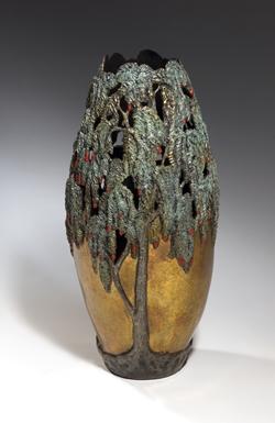 Carol Alleman Sculpture Graceful One Bronze