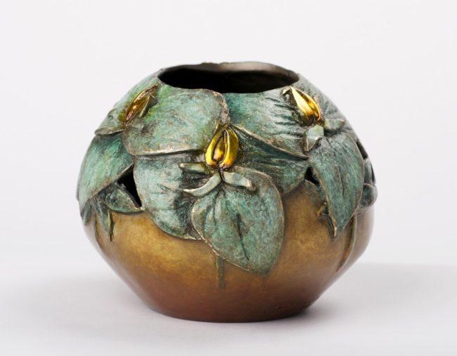 Carol Alleman Sculpture Quiet Radiance Bronze