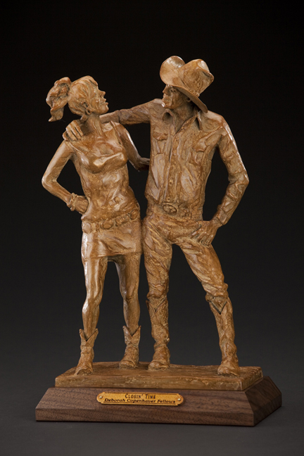 Deborah Copenhaver-Fellows Sculpture Closin Time Bronze