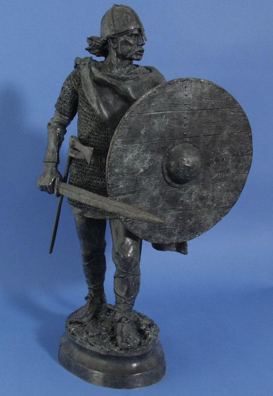 Deborah Copenhaver-Fellows Sculpture The Viking Bronze