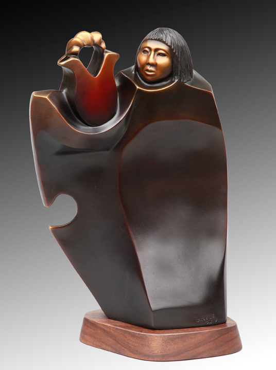 Doug Hyde Sculpture Wedding Tradition Bronze