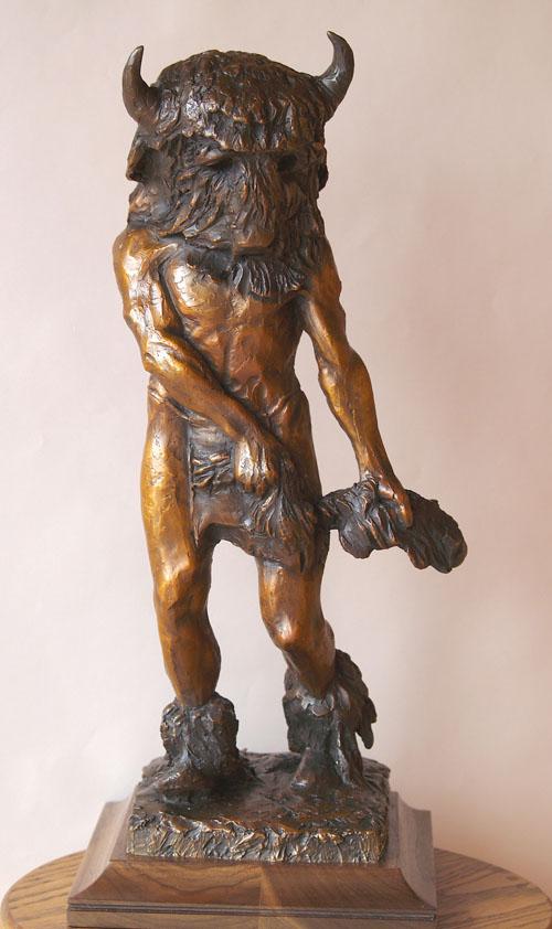 Fritz White CA Sculpture When We Danced As Gods Bronze