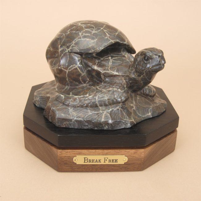 Gerald Balciar Sculpture Break Free Bronze