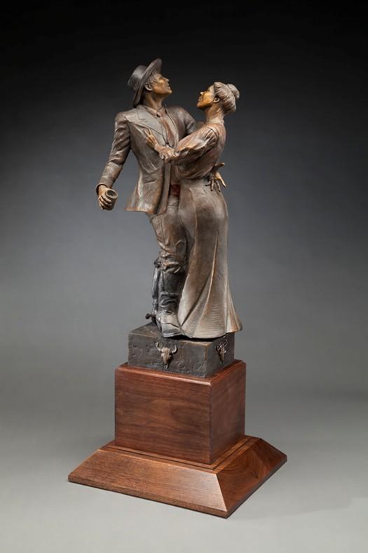 Greg Kelsey Sculpture Good Time Charlie Bronze
