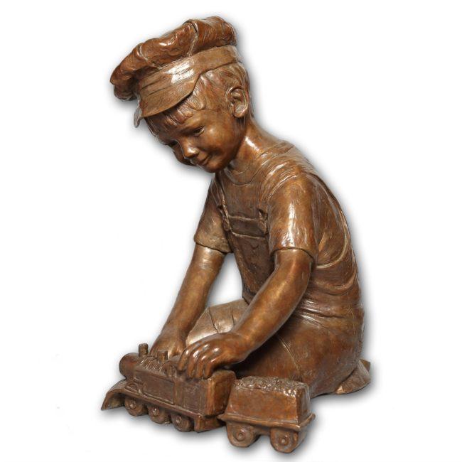 Jane Rankin Sculpture Choo-Choo Bronze