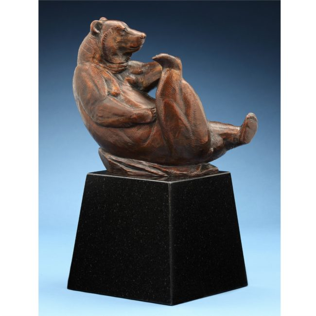 Kent Ullberg Sculpture Foothold Bronze