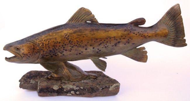 Margery Torrey Sculpture River Master Bronze