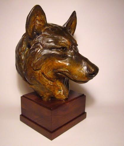 Margery Torrey Sculpture Silent Watch Bronze