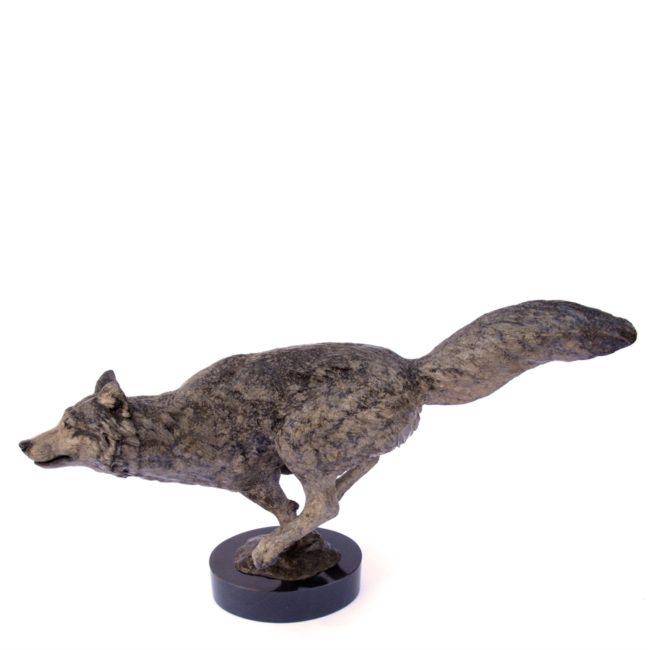 Mark Dziewior Sculpture Wild and Free - Grey Patina Bronze