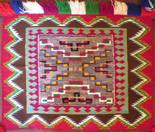 Navajo Weaving Textiles Germantown Copy Weaving