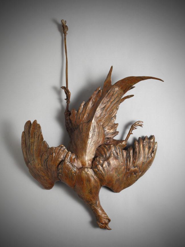 Sandy Scott Sculpture After the Hunt Still Life Bronze