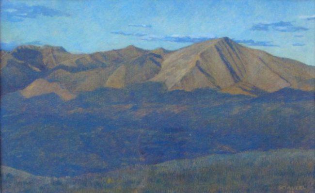 Stephen Smalzel  The Range Oil Pastel