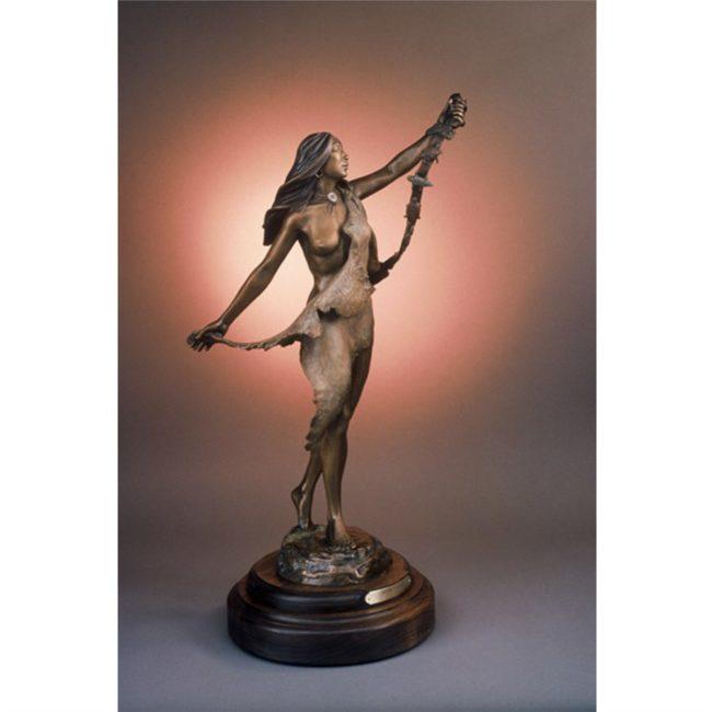 Susan Kliewer Sculpture Dream Catcher Bronze