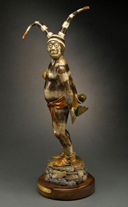 Susan Kliewer Sculpture Koshari Man Bronze