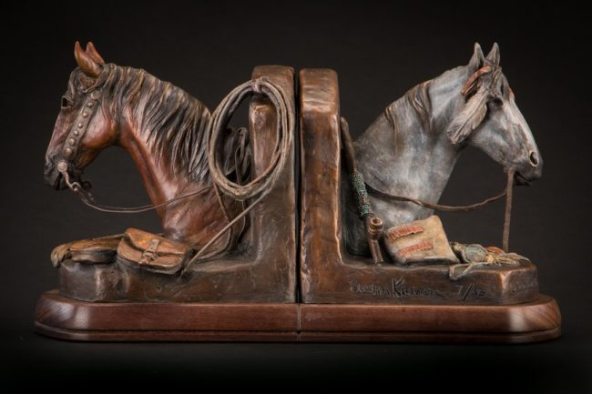 Susan Kliewer Sculpture Leading the West Bronze
