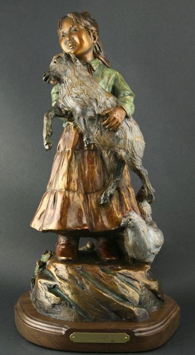 Susan Kliewer Sculpture Maggie's Farm Bronze