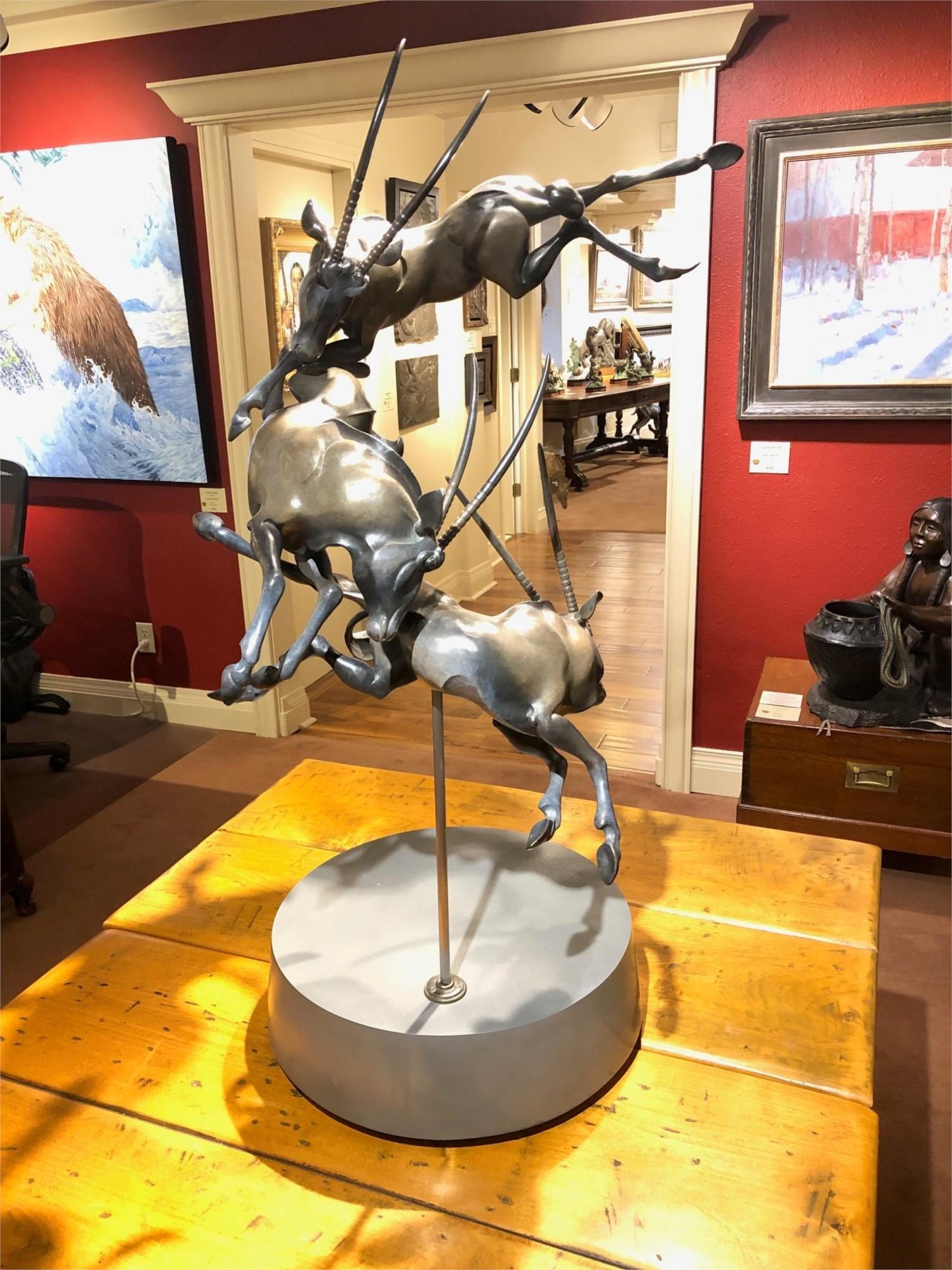 Timothy Nimmo Sculpture Sirocco Bronze