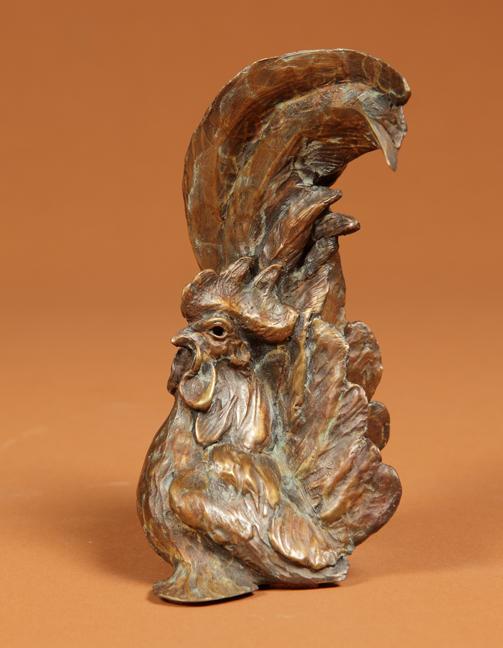 Stefan Savides Sculpture Fast Eddie Bronze