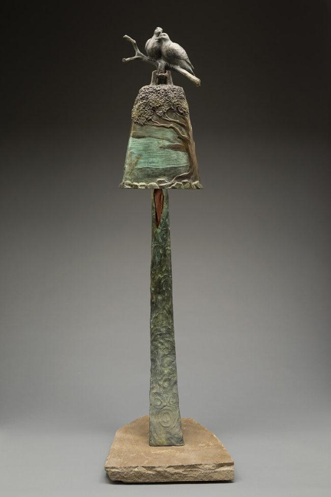 James Moore Sculpture Abundance Bronze